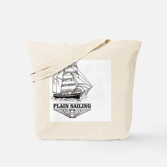Cute Captain trips Tote Bag