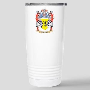Barnard Coat of Arms - Stainless Steel Travel Mug