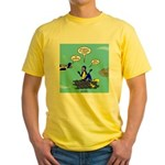 SCUBA King Yellow T-Shirt