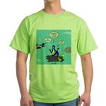 SCUBA King Green T-Shirt