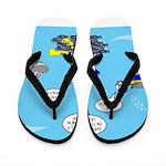 SCUBA King Flip Flops