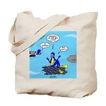 SCUBA King Tote Bag