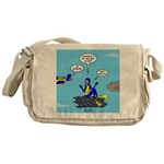 SCUBA King Messenger Bag