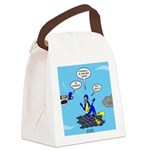 SCUBA King Canvas Lunch Bag