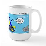 SCUBA King Large Mug