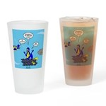 SCUBA King Drinking Glass