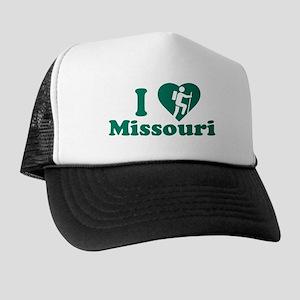 Love Hiking Missouri Trucker Hat