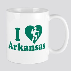 Love Hiking Arkansas Mug