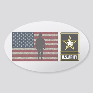 Usarmy Gold Star Flag Pp Sticker