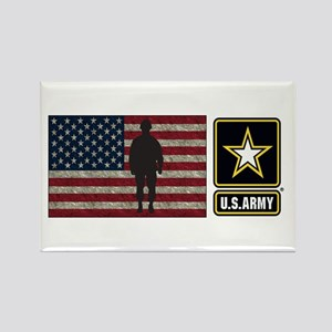 Usarmy Gold Star Flag Pp Magnets
