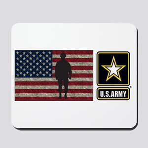 Usarmy Gold Star Flag Pp Mousepad