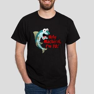 Holy Mackerel I'm 70 T-Shirt