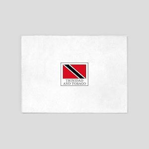 Trinidad and Tobago 5'x7'Area Rug