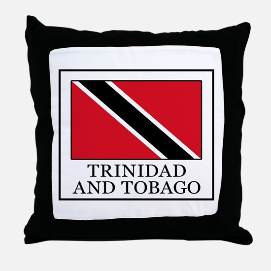 Trinidad and Tobago Throw Pillow