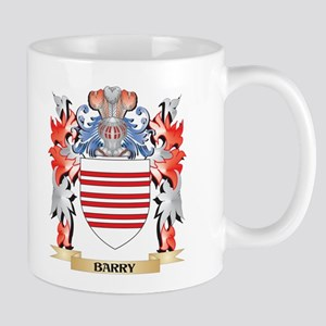 Barry Coat of Arms - Family Crest Mugs