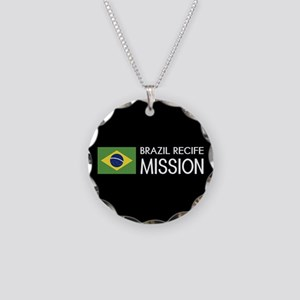 Brazil, Recife Mission (Flag Necklace Circle Charm