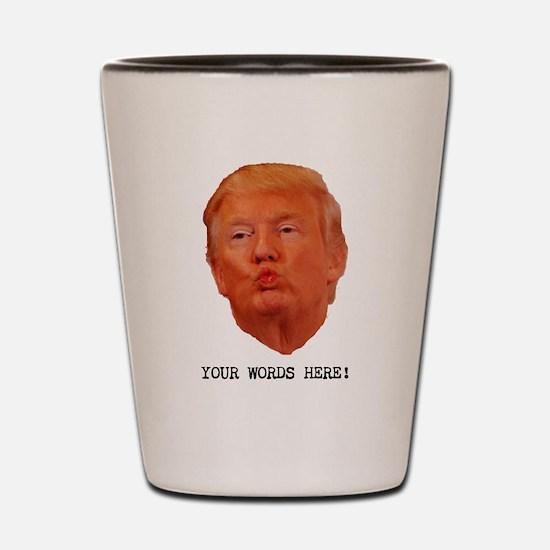 CAPTION TRUMP! Customizable President Shot Glass