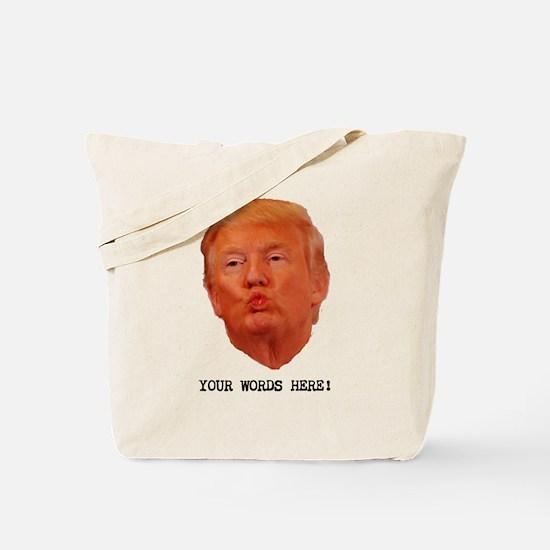 CAPTION TRUMP! Customizable President Tote Bag