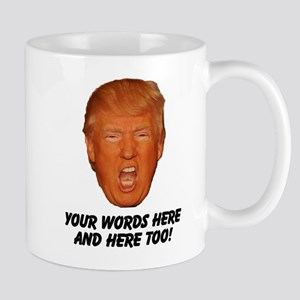 CAPTION TRUMP! Customizable President Mug