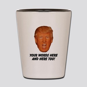 CAPTION TRUMP! Customizable President Shot Glass