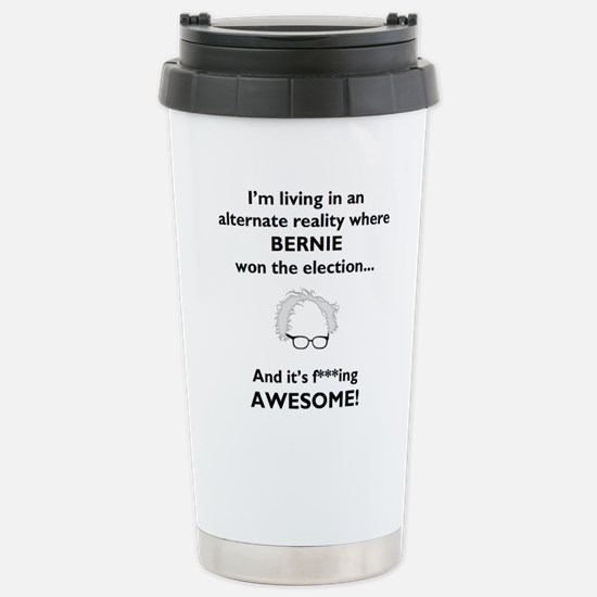 Altered Reality Bernie Stainless Steel Travel Mug
