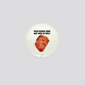 CAPTION TRUMP! Customizable President Mini Button