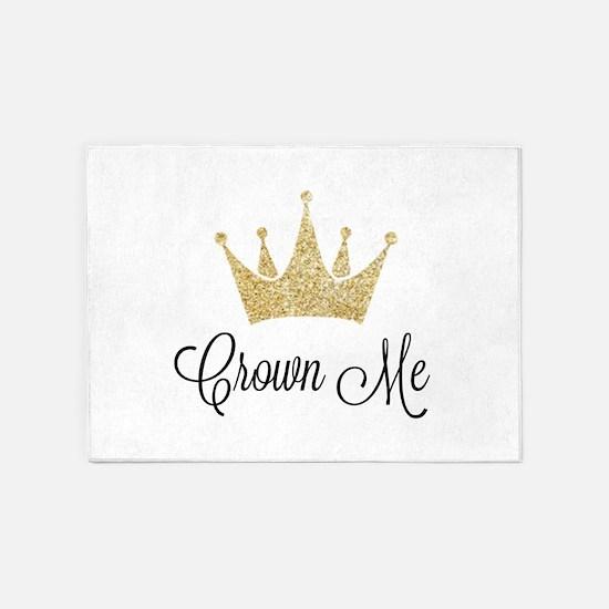 Crown Me 5'x7'Area Rug