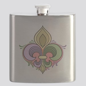 Secret Heart of NOLA Flask