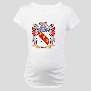 Bastard Coat of Arms - Family Cr Maternity T-Shirt