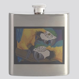 Macaws Flask