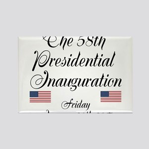 The 58th Presidential Inauguration Magnets