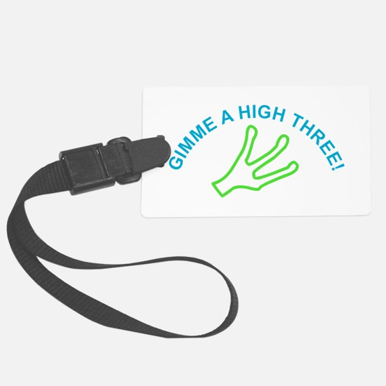 Alien - Gimme a High Three Luggage Tag