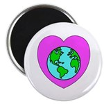 """Love Our Planet 2.25"""" Magnet (10 pack)"""