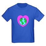 Love Our Planet Kids Dark T-Shirt