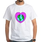 Love Our Planet White T-Shirt