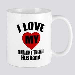 I Love My Trinidadian Husband Mug