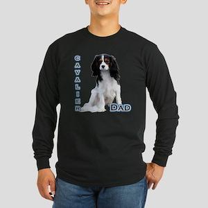 Cavalier Dad4 Long Sleeve Dark T-Shirt