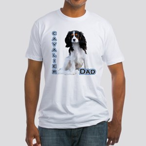 Cavalier Dad4 Fitted T-Shirt