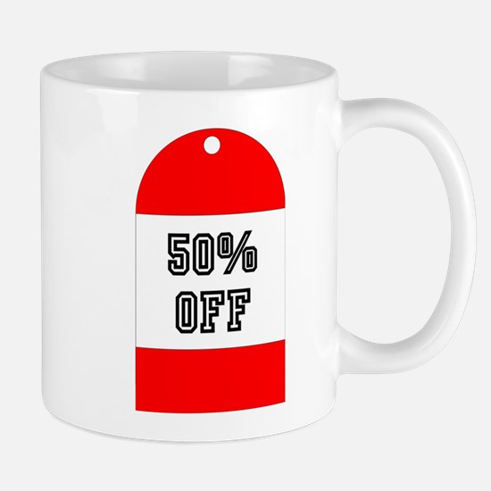 LABEL - 50% OFF Mugs