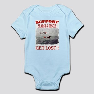 Support Get Lost Body Suit