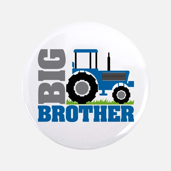Blue Tractor Big Brother Button