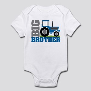 Blue Tractor Big Brother Body Suit
