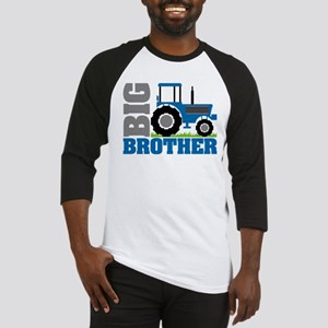 Blue Tractor Big Brother Baseball Jersey