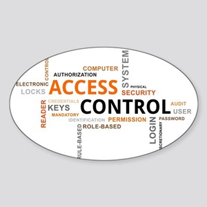 word cloud - access control Sticker