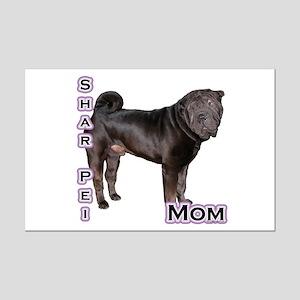 Shar Pei Mom4 Mini Poster Print
