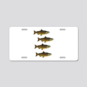 SCHOOL Aluminum License Plate