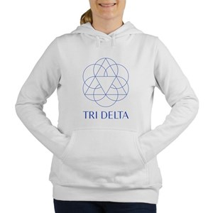 Delta Delta Delta Symbol Women's Hooded Sweatshirt