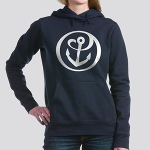 Alpha Sigma Tau Logo Women's Hooded Sweatshirt