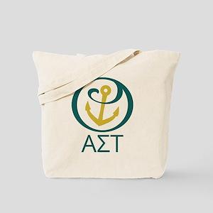 Alpha Sigma Tau Letters Tote Bag