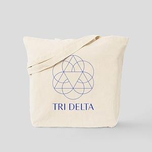 Delta Delta Delta Symbol Tote Bag